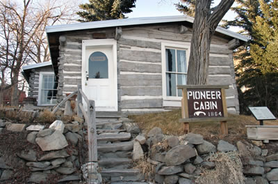 Photo of Helena Montana Pioneer Cabin