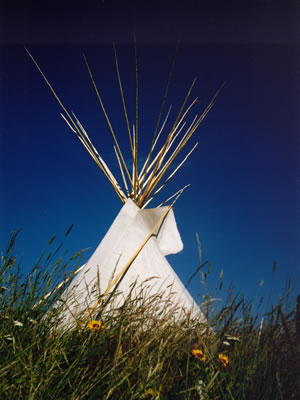The Native American Vacation Photo of Teepee
